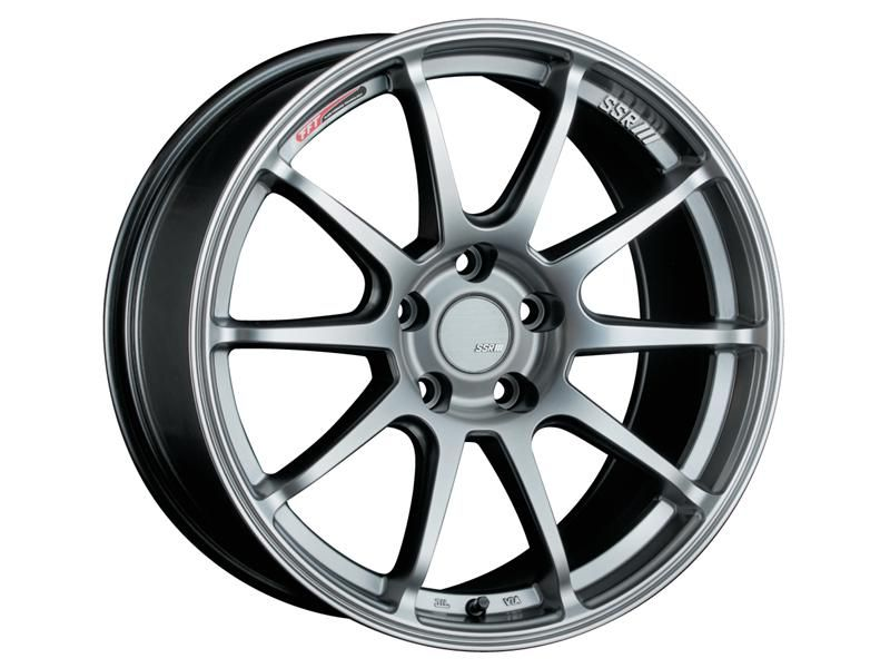 SSR GTV02 Phantom Silver Wheel: 17x9.0 +38