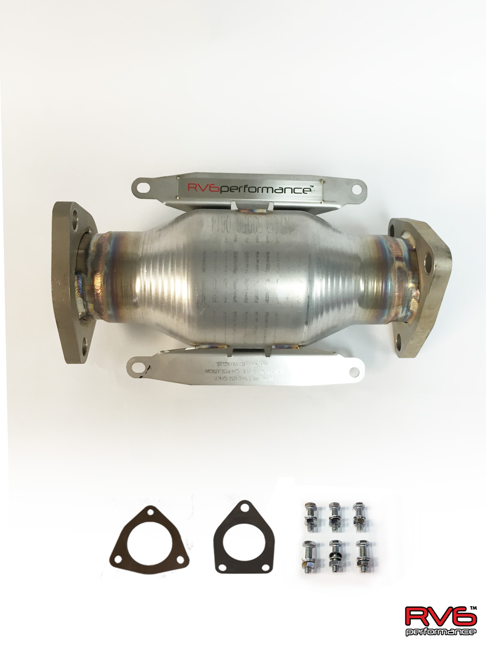 RV6 Performance 07-09 MDX High Flow Cat Kit