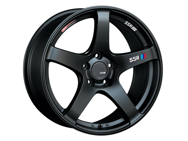 SSR GTV01 Flat Black Wheel: 19x8.5 +38
