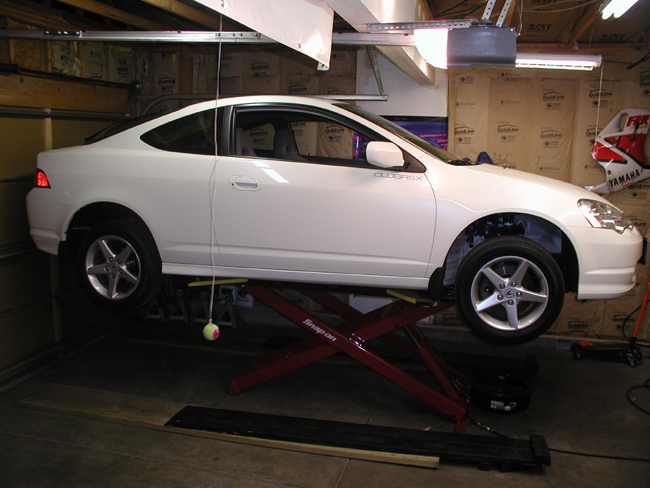 K Series Parts: Acura RSX Coilover Installation