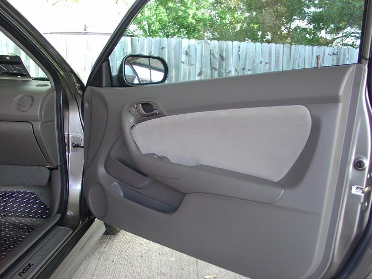 K Series Parts Acura Rsx Suede Door Inserts