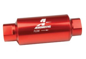 Aeromotive Red 100 Micron ORB-10 Fuel Filter
