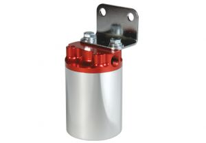Aeromotive Silver with Red 10 Micron Canister Fuel Filter