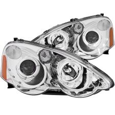 ANZO 02-04  RSX Chrome Projector Headlights