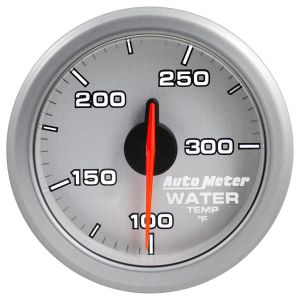 AutoMeter Silver AirDrive 100-300`F Water Temp Gauge