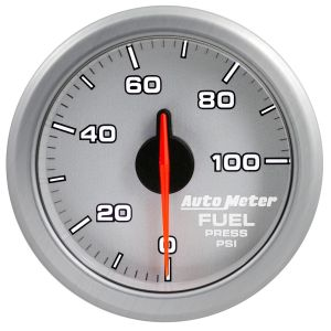 AutoMeter Silver AirDrive 0-100 PSI Fuel Pressure Gauge
