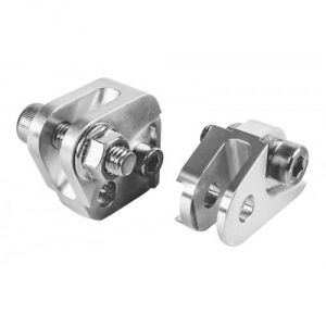 Blox Racing 02-06 RSX Short Shifter Adapter: Silver