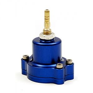 Blox Racing Adjustable Fuel Pressure Regulator: Blue