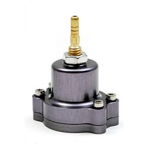 Blox Racing Adjustable Fuel Pressure Regulator: Gunmetal
