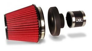 "Blox Racing 2.5"" Velocity Stack Filter Kit: Black"
