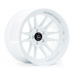 Cosmis Racing XT-206R 15x8 +30 4x100 White Wheel