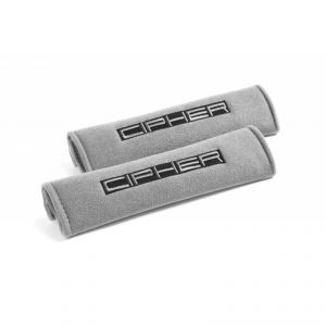 Cipher Auto Grey 2 Inch Harness Pads: 2 Pads
