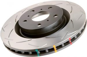 DBA 02-06 RSX Type-S 4000 Series Slotted Front Rotor