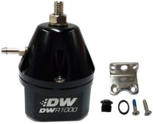 DeatschWerks Black Fuel Pressure Regulator