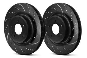 EBC 06-15 Civic Si GD Series Sport Rotors: Rear Set