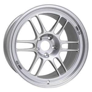 Enkei RPF1 17x9 5x114.3 22mm Offset 73mm Bore Silver Wheel