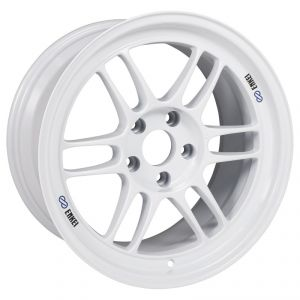 Enkei RPF1 17x9 5x114.3 22mm Offset 73mm Bore Vanquish White Wheel