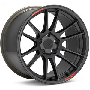 Enkei GTC01RR Gunmetallic Wheel: 18x8.5 5x100 42mm Offset