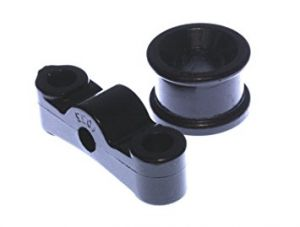 Energy Suspension 90-01 Integra / 99-00 Civic Si Black Polyurethane Shifter Stabilizer Bushings
