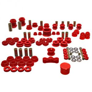 Energy Suspension 92-95 Civic Bushing Kit: Red