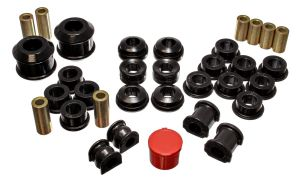 Energy Suspension 02-04 RSX Bushing Kit: Black
