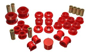Energy Suspension 02-04 RSX Bushing Kit: Red
