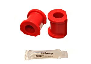 Energy Suspension 02-04 RSX 23mm Red Sway Bar Bushings