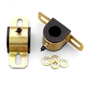 Energy Suspension 21mm Sway Bar Bushings: Black