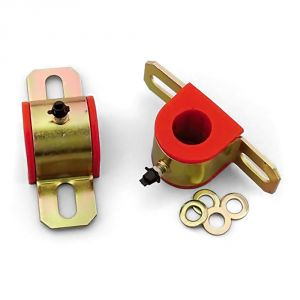 Energy Suspension 24mm Sway Bar Bushings: Red