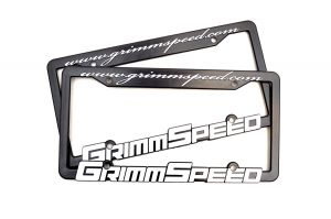 GrimmSpeed License Plate Frame (Pair)