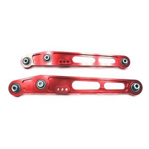 Godspeed Project 96-00 Civic Red Spherical Bearings Rear Lower Control Arms