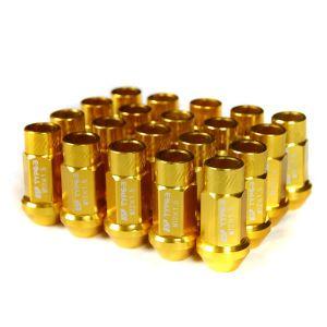 Godspeed Project Gold Type 3 50mm Lug Nuts 20 Piece Set M12 X 1.5