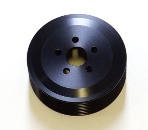 HKS GT Supercharger Pulley: 8Rib-80mm