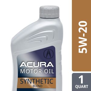 Honda/Acura 5W-20 Synthetic Blend Motor Oil: 1 Quart