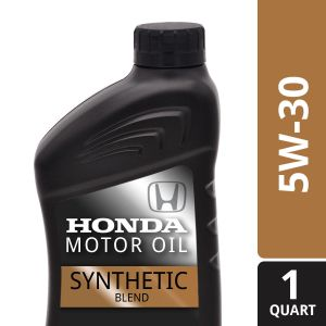 Honda/Acura 5w-30 Synthetic Blend Motor Oil: 1 Quart