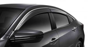 Honda OEM 16-17 Sedan Side Window Deflectors