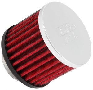 K&N 1.375 inch ID Clamp On Crankcase Vent Filter
