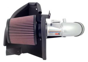 K&N 06-11 Civic 1.8L Silver Typhoon Short Ram Intake