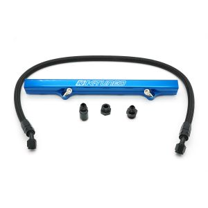 K-Tuned 06-15 Civic Si Blue Fuel Rail Kit: Side Feed