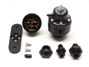 K-Tuned Fuel Pressure Regulator with Fittings and Gauge