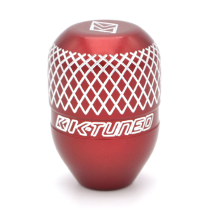 K-Tuned Red M10 x 1.5 Billet Shift Knob