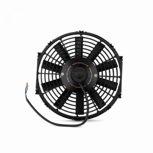 "Mishimoto 12"" Slim Electric Fan: Black"