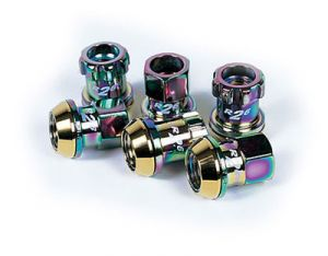 Project Kics Racing Composite R26 Neo Chrome Lug Nuts M12 x 1.5
