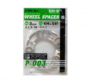 Project Kics 3mm Wheel Spacers: Pair