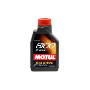 Motul 8100 X-Clean Synthetic 5W30 Engine Oil: 1 Liter