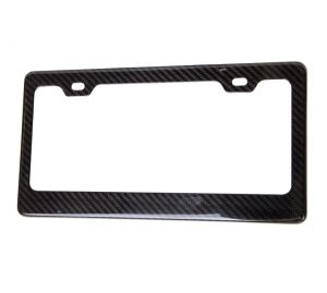 NRG Carbon Fiber License Plate Frame