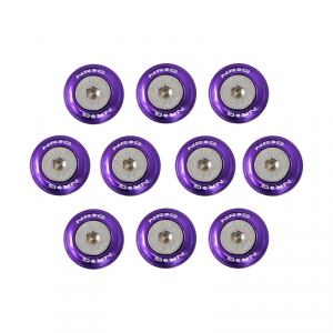 NRG Purple Fender Washer Kit for Plastic