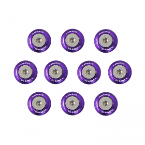 NRG Purple Fender Washer Kit for Metal