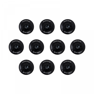 NRG Black Fender Washer Dress Up Kit Set of 10