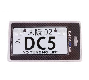 NRG JDM Mini License Plate: DC5
